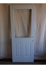 "North York Steel exterior door with cutout 31 3/4"" x 79"""