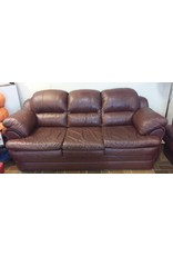 Vaughan Soft Brown Leather Sofa