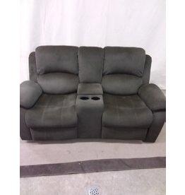 North York Dark green 2 seat sofa with storage
