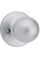 East York Inactive Door Knob Satin Chrome
