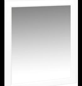 East York Glacier Bay 29 in White Hampton Bath Mirror