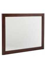 East York Home Decorators Collection Madeline 31-inch W x 26-inch H Framed Wall Mirror in Chestnut
