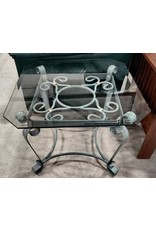 Markham West Glass side table