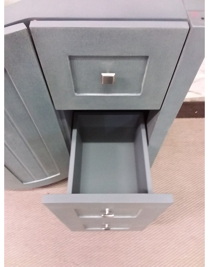 """North York 47"""" Grey Vanity cabinet"""