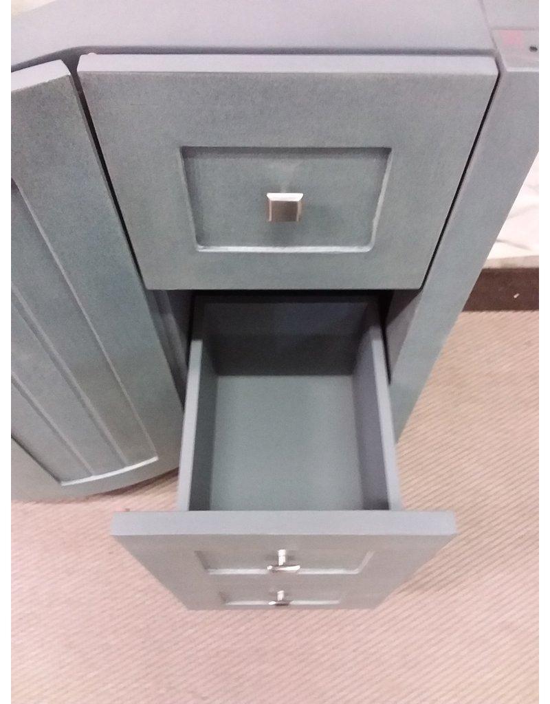 "North York New 47"" Grey Vanity cabinet"