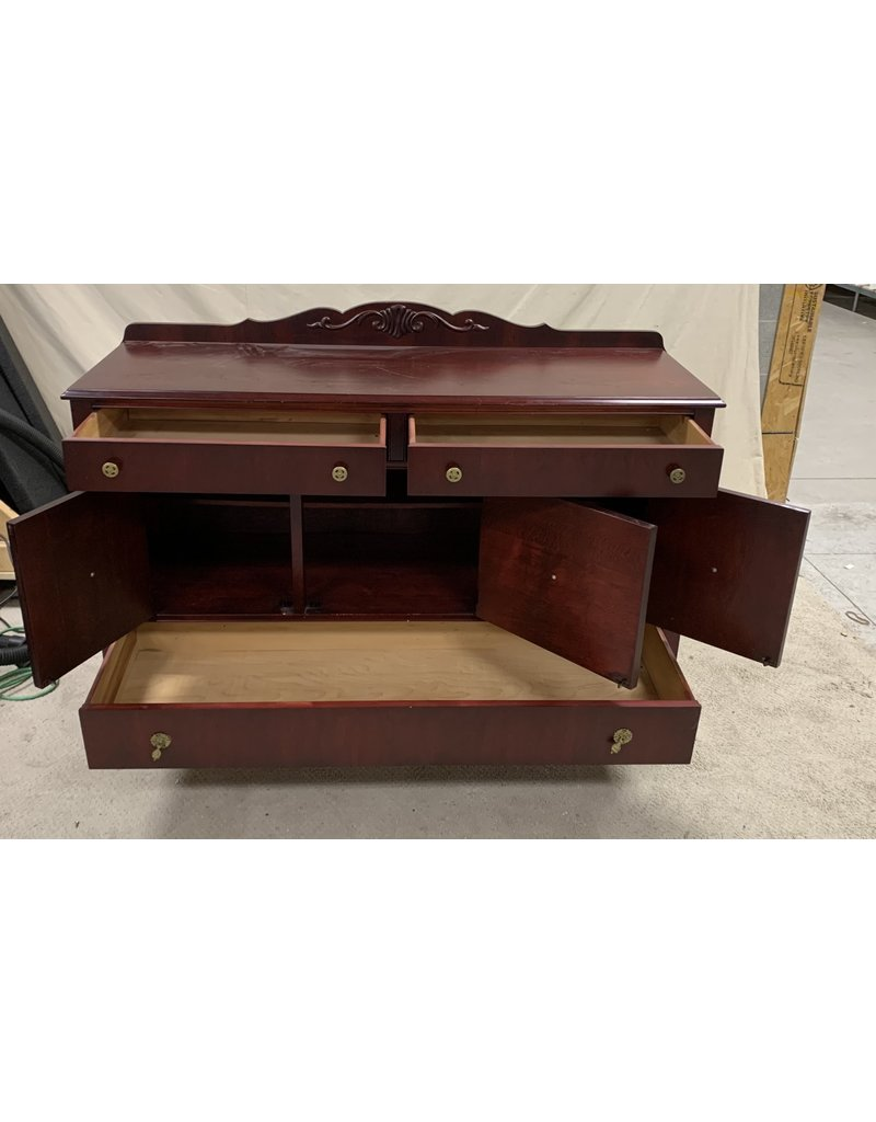 East York Red Chest Piece with Drawers