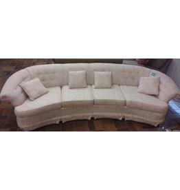 Vaughan Large White Sofa