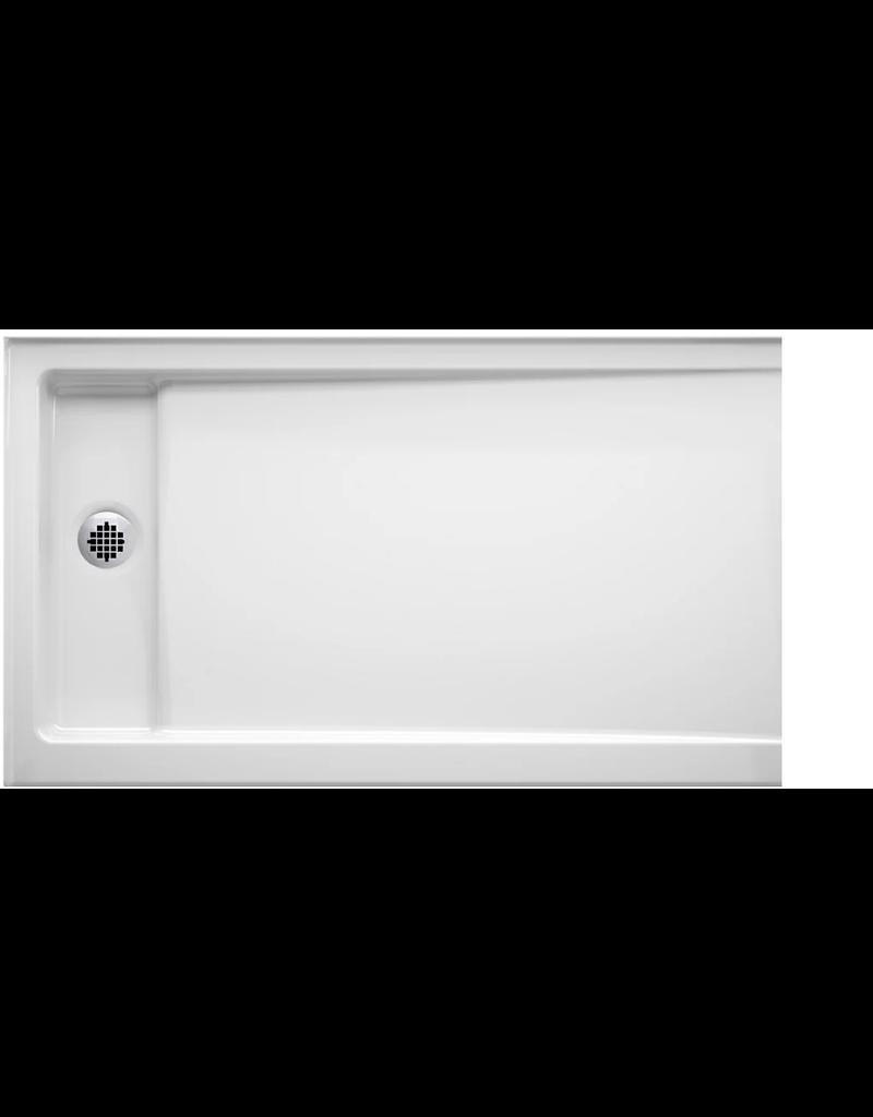 East York KOHLER Bellwether 60 inch X 32 inch Single-Threshold Shower Base With Centre Drain, White