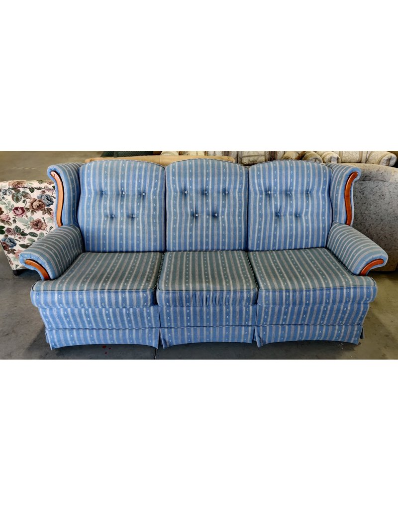 Markham West Blue 3 seat sofa