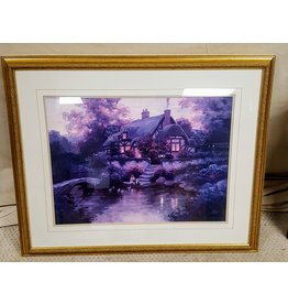 East York Thatched cottage scene painting