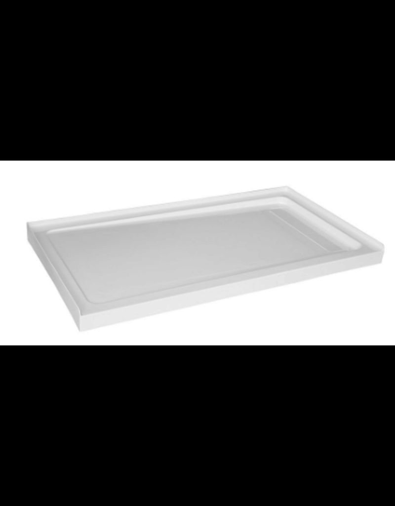 East York Glacier Bay 60 inch x 32 inch Acrylic Shower Base with Right Concealed Drain