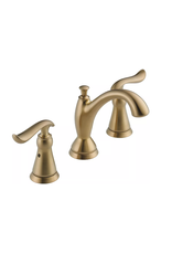 East York Delta Linden Two Handle Widespread Lavatory Faucet, Champagne Bronze