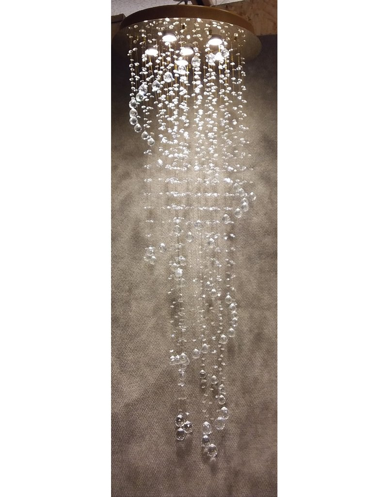 Vaughan Large Gold Finish Chandelier