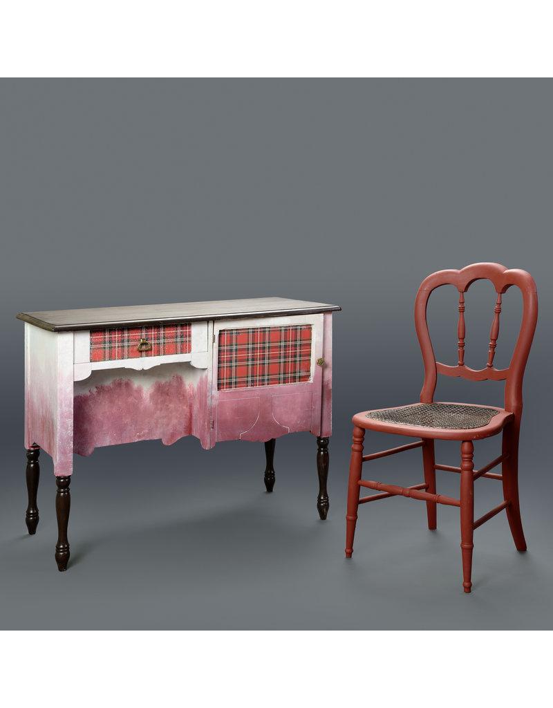 Studio District Plaid Desk and Chair by Daniel Cervantes