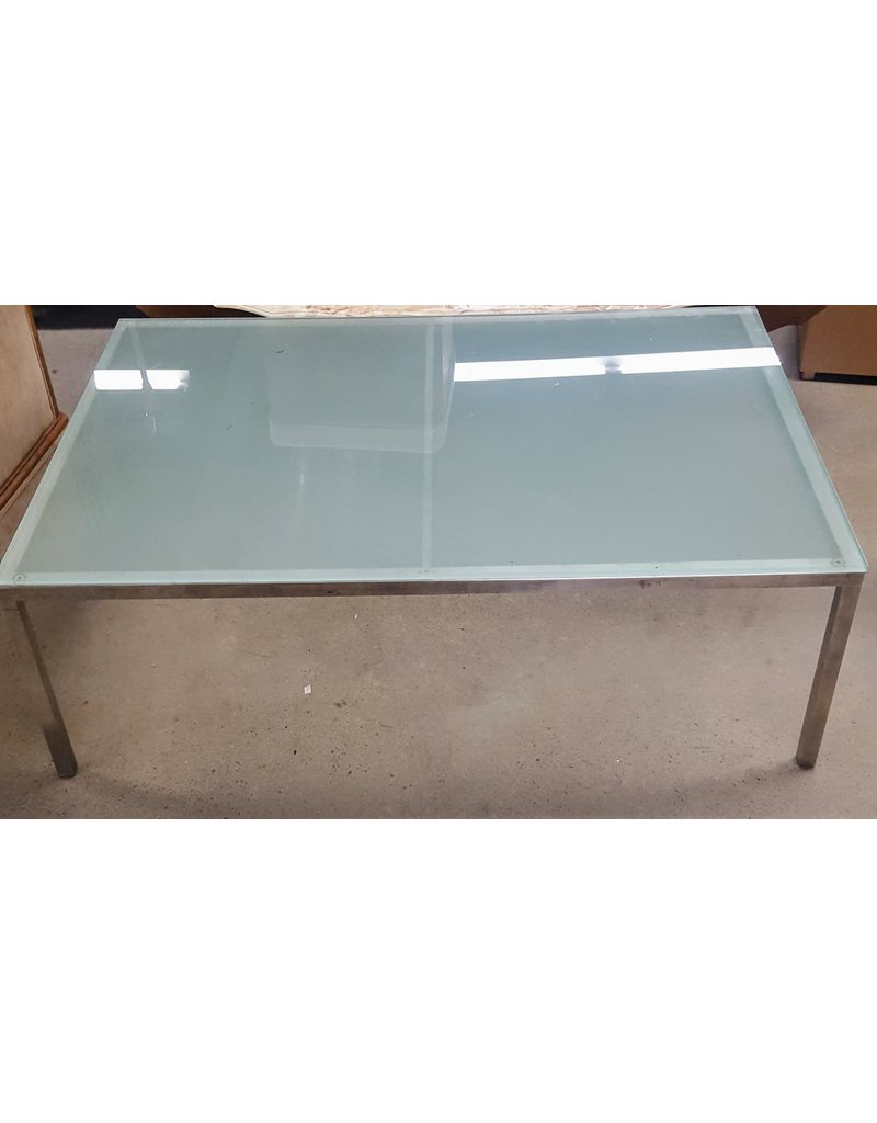 East York Glass coffee table - green