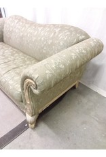 North York Green antique style sofa