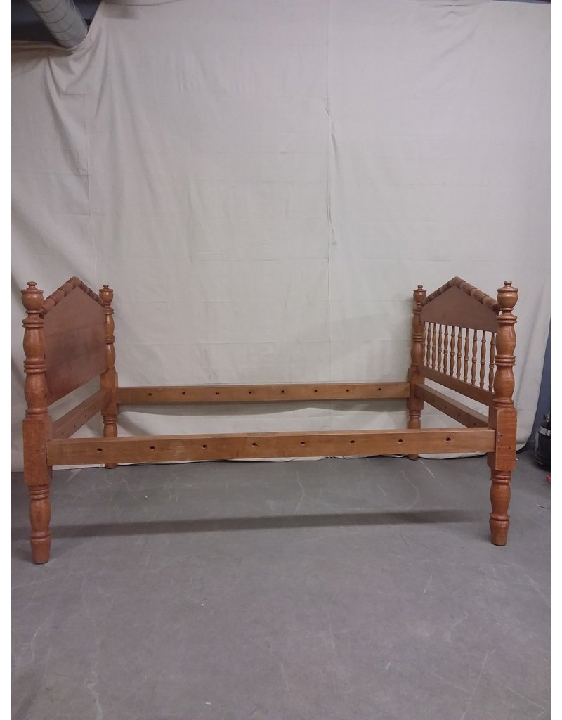 Studio District Wooden Bed