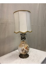 North York Antique Floral Lamp