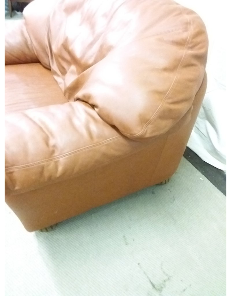 North York Jumbo leather armchair
