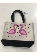 North York Woven Flamingo Bag