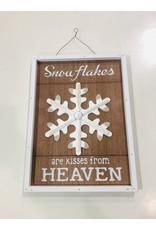 North York Snowflake Hanging Decor