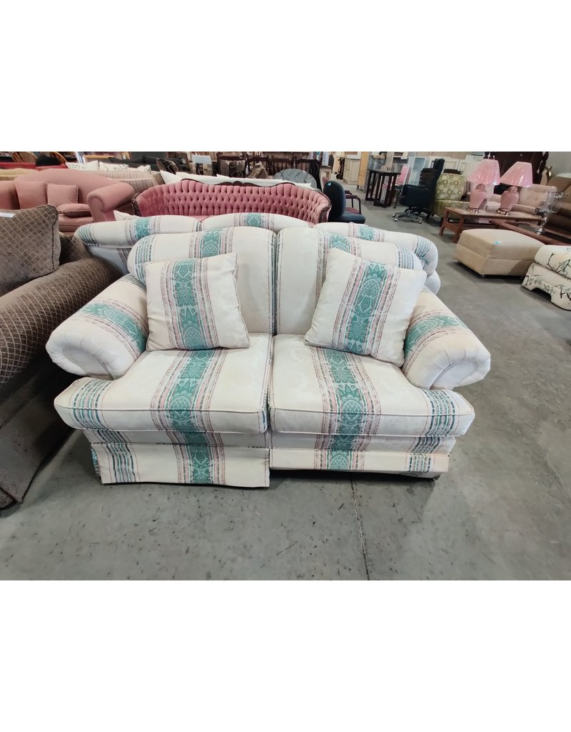 Markham West Striped love seat
