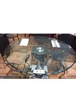 Vaughan Glass Top Table Set