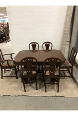 East York Wood table with 6 chairs