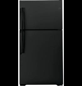 East York GE Fridge Freezer - Black