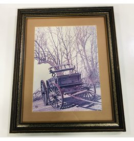 North York Wagon in the Woods Wall Art