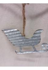 North York Christmas sheet metal garland
