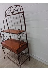 North York Baker's rack shelf unit