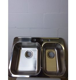 North York New Blanco stainless steel double sink
