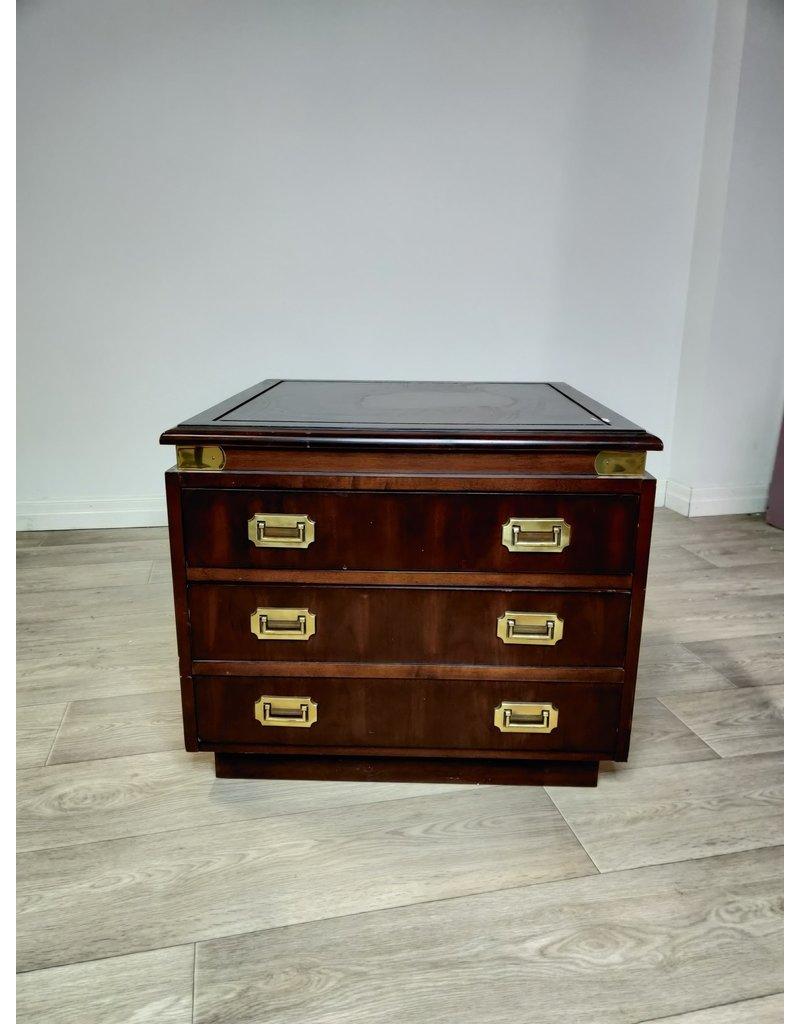 Markham West 3 Drawer Side Table