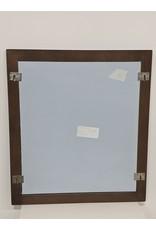 Newmarket Brown Mirror