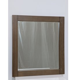 Newmarket Brown Mirror