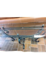 Vaughan Glass Console Table
