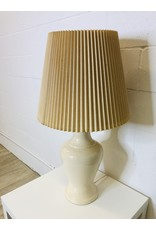 North York Cream Coloured Table Lamp