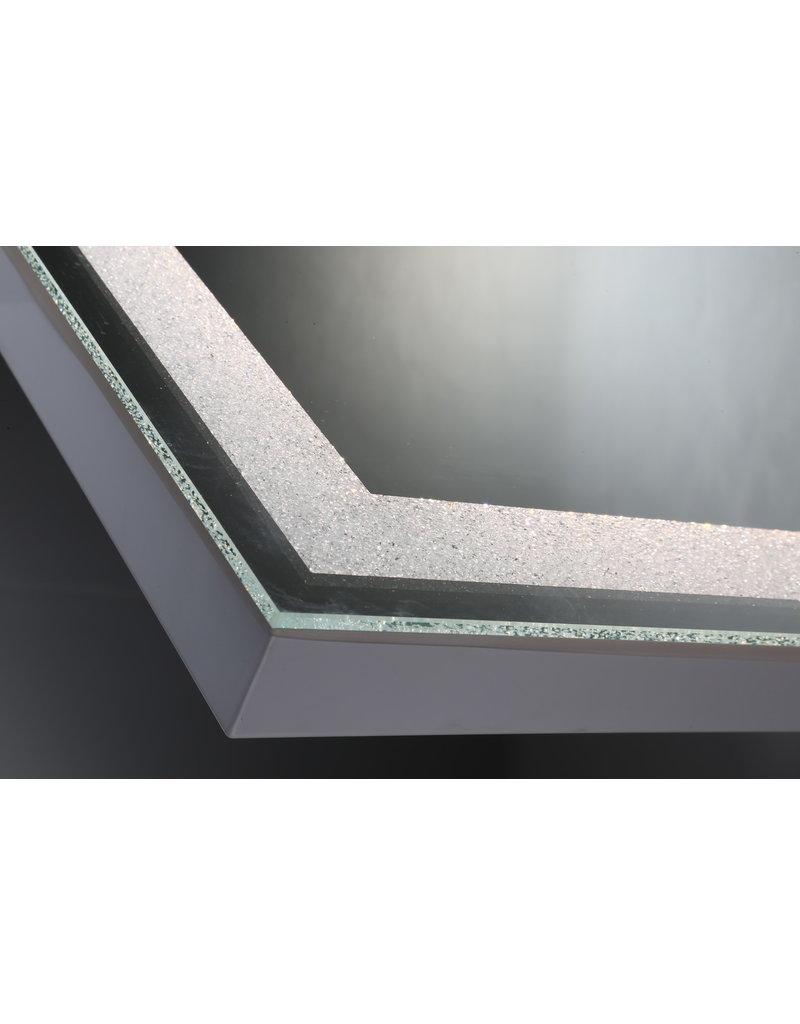 Studio District Eurofase Crystal Back Lit LED Rectangular Mirror - 33824-017
