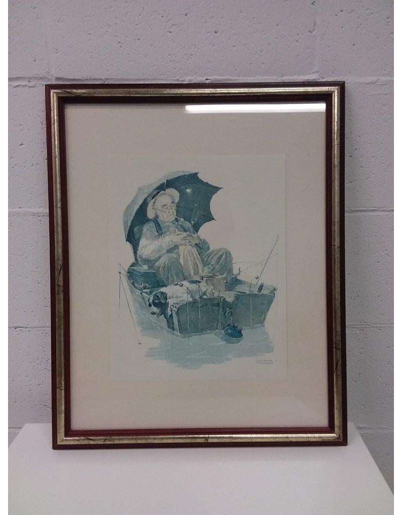 North York Framed Norman rockwell print