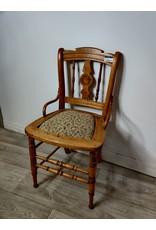 Markham West Antique Wood Chair