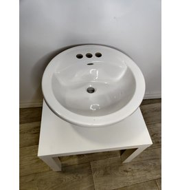 Markham West White Sink