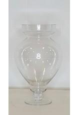 East York Glass vase or potpourri bowl