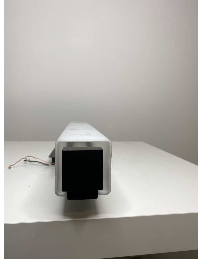 Studio District Black And White Wall Mount Light