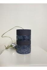 Studio District Black Cylinder Shaped Light