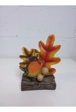 North York Bird and Oak leaf fall decor