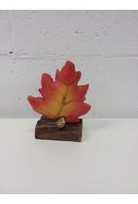 North York Bird and oak leaf decor 2