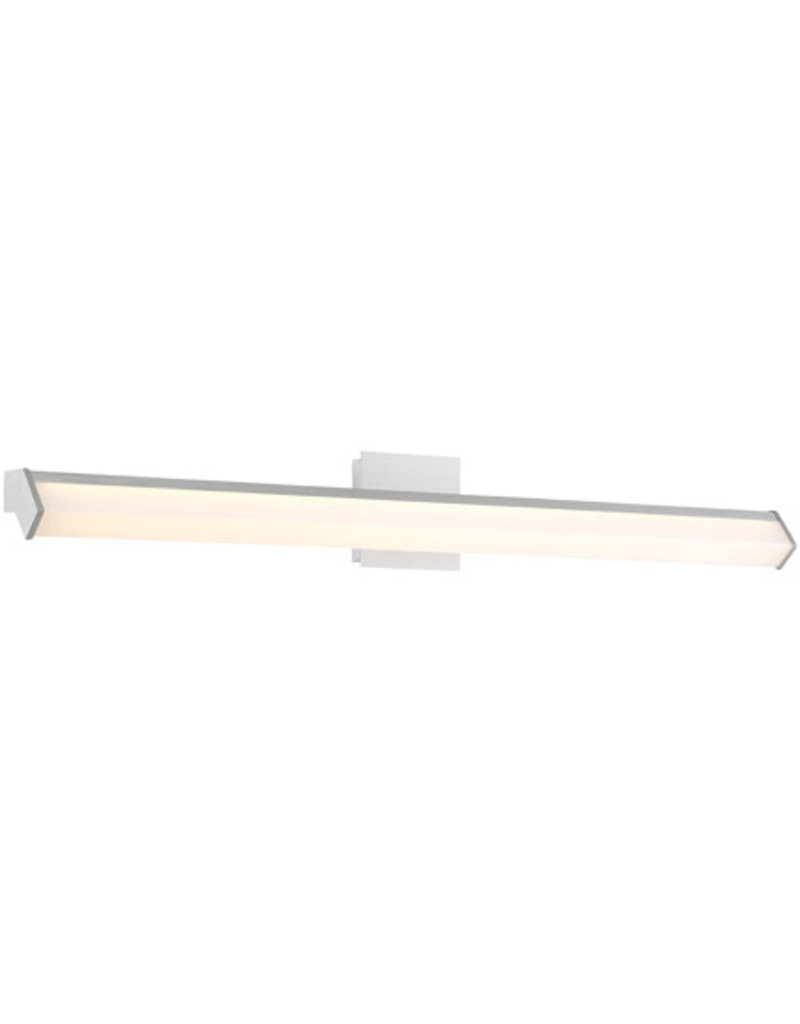 Studio District Eurofase Arco Collection, Large LED Chrome Wall Sconce