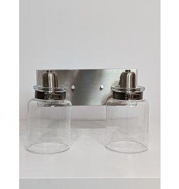 Newmarket Glass Vanity Light