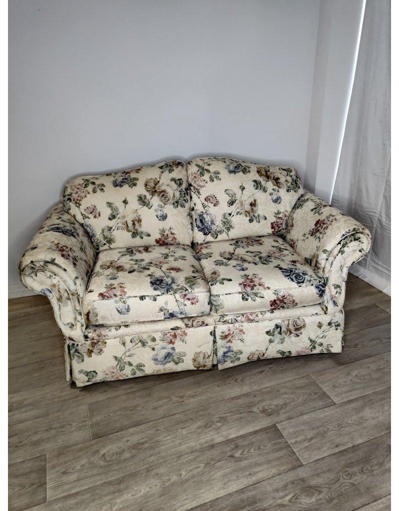 Markham West Floral Love Seat